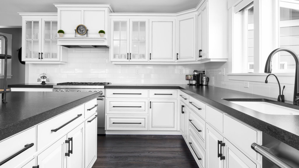 White Farmhouse Cabinets Modern Farmhouse Highcraft Cabinets